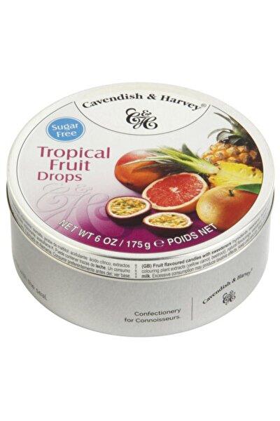Tropik Şekersiz Meyve Aromalı Şeker 175 G