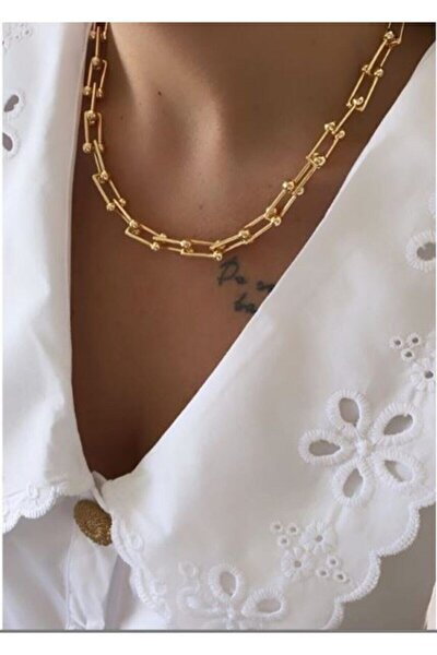 Tiffany&co. Gold Model Kolye