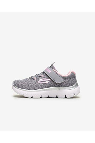 SUMMITS - Küçük Kız Çocuk Gri Spor Ayakkabı
