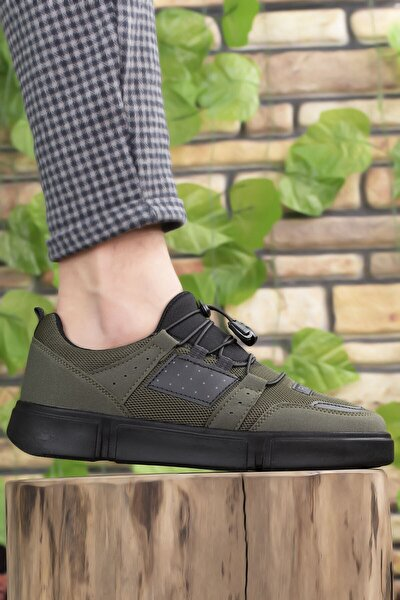 Haki Siyah Erkek Sneaker 00122023