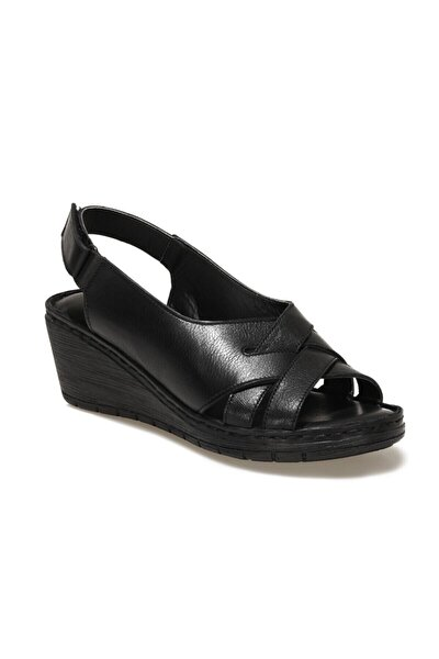 161821.Z1FX Siyah Kadın Sandalet 101019761