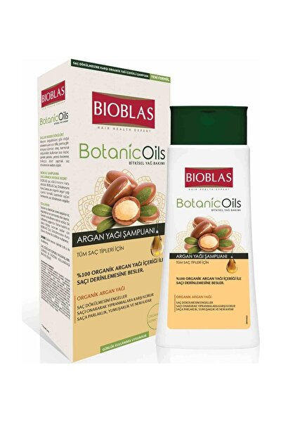 Botanic Oils Argan Şampuan 360 ml