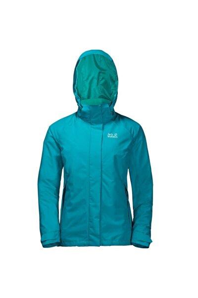 Kadın Mavi Iceland Voyage 3ın1 W Outdoor Ceket