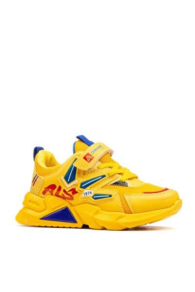 Çocuk Spor Ayakkabı Sarı