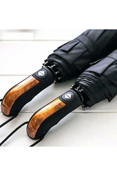 Tam Otomatik Rüzgarda Kırılmayan Profesyonel Erkek Kadın Şemsiye