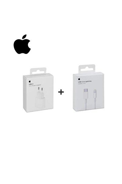 Macbook Ipad Iphone 11 / 12 - Pro Max Mini Uyumlu 20w Adaptör Kablo Usb-c Pd Hızlı Şarj Aleti