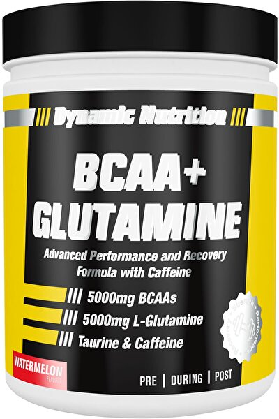 Dynamic Bcaa + Glutamine 300 Gr (karpuz Aromalı)