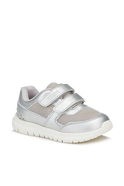 Solo Kız Çocuk Gümüş Spor Ayakkabı