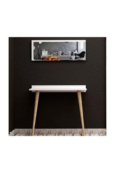 Tarz Design 80 Cm. Beyaz Dresuar Hol Koridor Duvar Salon Mutfak Aynası