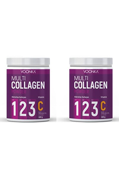A Multi Collagen Powder + Vitamin C 300 gr X 2 Adet