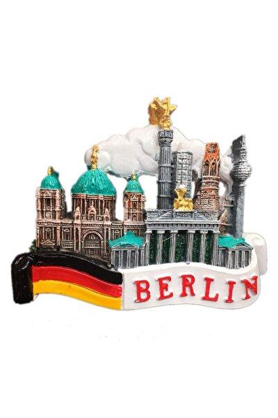 Buzdolabı Magneti Avrupa Şehirleri Berlin