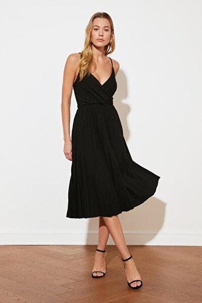 Siyah Örme Elbise TWOSS20EL2729