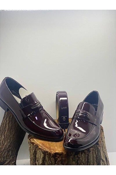 Erkek Bordo Klasik Ayakkabı