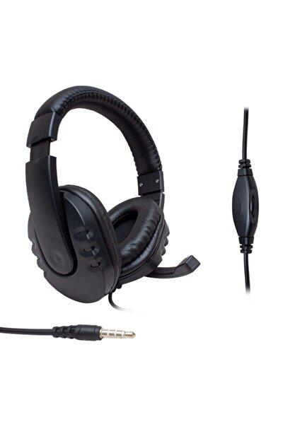 Gm002 Stereo 3.5mm Tek Jack Kulaküstü Mikrofonlu Oyuncu Kulaklık
