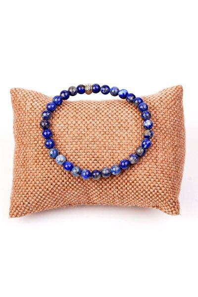 Lapis Lazuli Taşı Bileklik - 6 mm