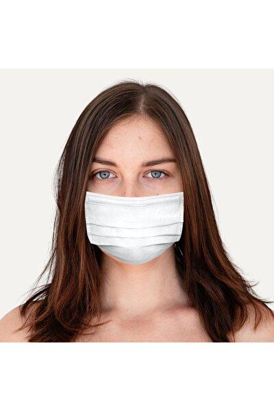 Nefes Meltblownlu Yeni Nesil Cerrahi Maske Beyaz 50 Adet