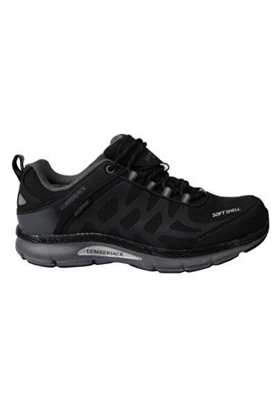 Erkek Siyah Bağcıklı Ursa Waterproof Outdoor Ayakkabı