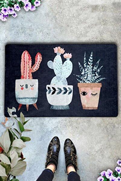 Spina Cactus İç ve Dış Kapı Önü Paspasları,Desenli Paspas