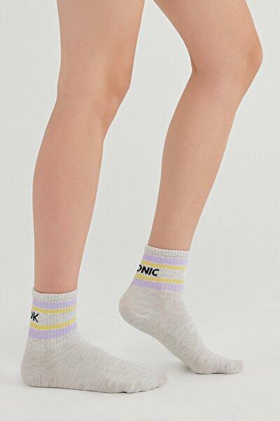 Kadın Beyaz Çorap