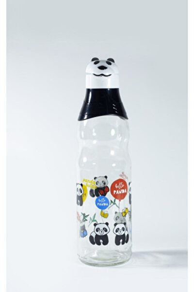 Titiz Panda Desenli Su Şişesi (1000 Ml) Kc-381