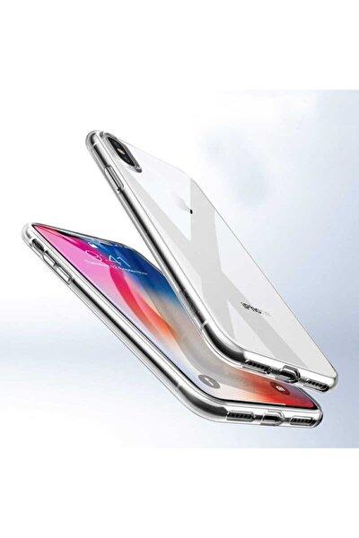 Apple Iphone Xs Max 6.5' Kılıf Ultra Ince Silikon Kapak 0.2 Mm