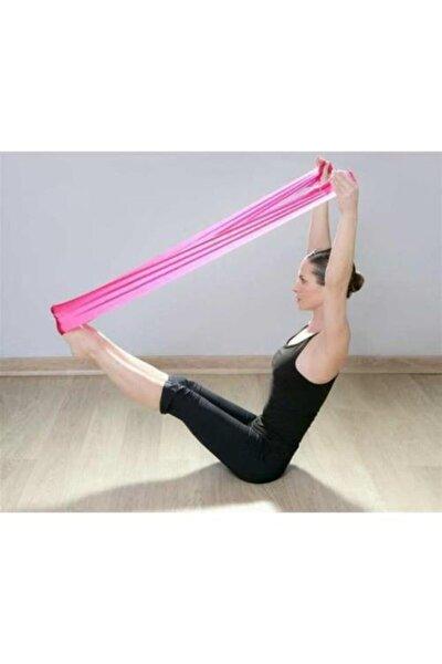 Pilates Bandı Plates Egzersiz Direnç Lastiği 1 Adet