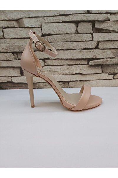 Tek Bant Topuklu Ayakkabı