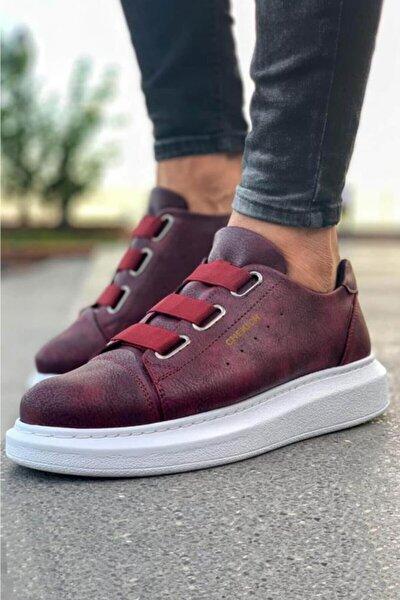 Ch Ch253 Bt Erkek Ayakkabı Bordo