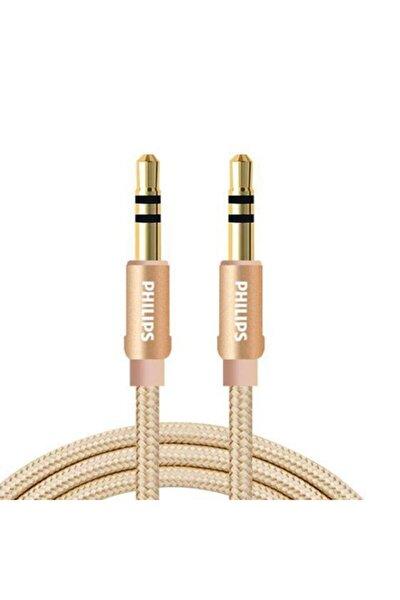 Swa5010c 3.5mm Örgülü Aux Ses Kablosu Gold