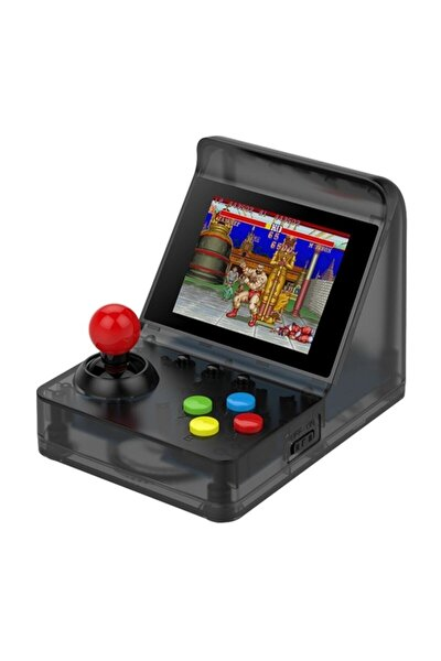 Retro Mini Arcade 16gb 3000 Oyunlu Ekranlı Atari Oyun Makinesi