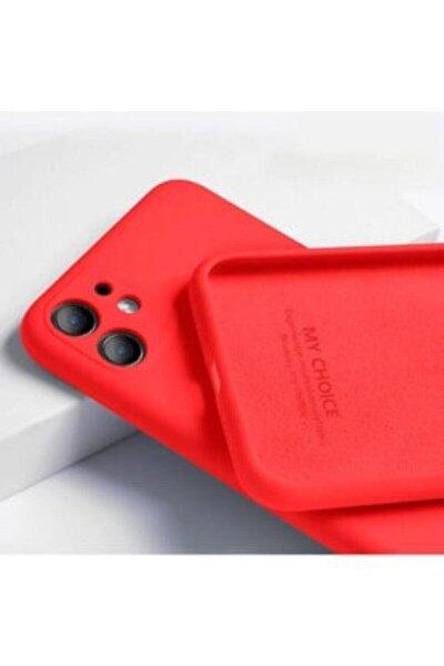 Iphone 11 Kılıf 3d Kamera Korumalı Lansman Içi Kadife Kırmızı