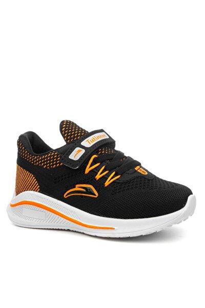 Tutinom Unisex Anoraklı Rahat Taban Çocuk Spor Ayakkabı