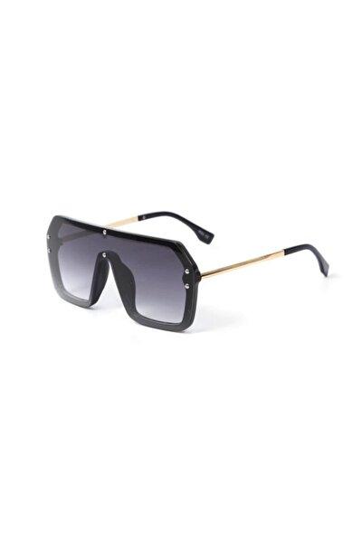 Kare Çerçeve Unisex Güneş Gözlüğü Siyah Kare Modeli Güneş Gözlüğü Siyah Gözlük