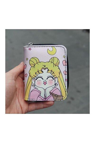 Japanese Anime Sailor Moon Kısa Cüzdan