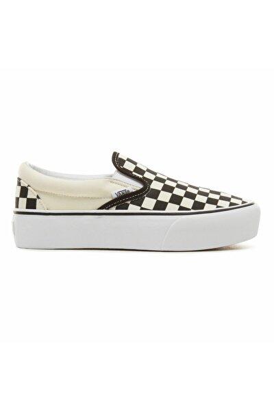 Kadın Spor Ayakkabı - Classic Slip-on Checkerboard Platform Vn18ebww