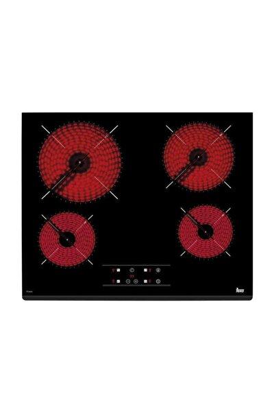 Tz 6415 Siyah Vitroseramik Elektrikli Ankastre Ocak