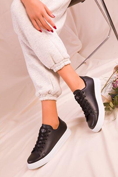 Siyah Kadın Sneaker 14739