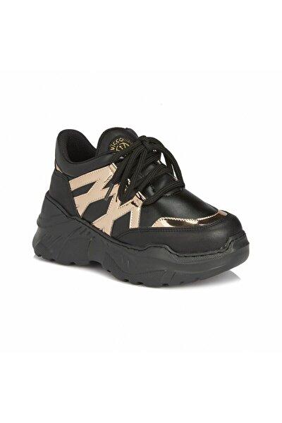 Kız Çocuk Siyah Günlük Ayakkabı