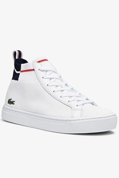 La Piquee Mid 0721 1 Cfa Kadın Beyaz - Lacivert - Kırmızı Mid Ayakkabı 741CFA0003