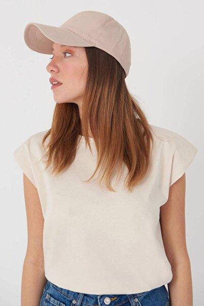 Kadın Bej Unisex Şapka Şpk1007 - F1 Adx-0000022027