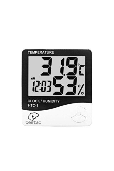 Htc-1 Dijital Termometre Oda Isı Sıcaklık Ve Nem Ölçer