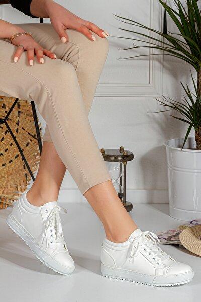 Linda 4 Cm Gizli Ökçe Kadın Günlük Spor Ayakkabı