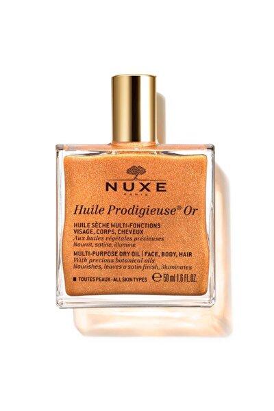 Huile Prodigieuse Or - Altın Parıltılı Çok Amaçlı Kuru Yağ (Yüz, Vücut, Saçlar) 50 ml