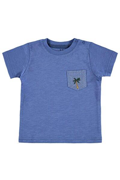 Erkek Bebek İndigo Tişört