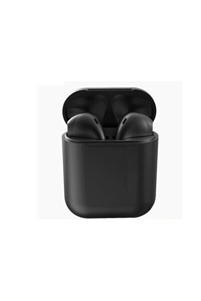 I12 Inpods Bluetooth 5.0 Kulaklık - Siyah