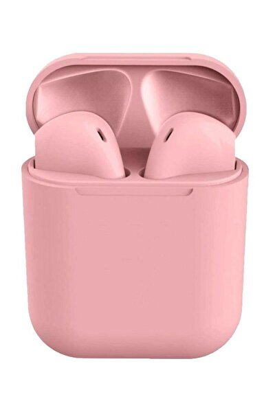 Airpods I12 Pembe Iphone Android Universal Bluetooth Hd Ses Kalitesi Kulaklık