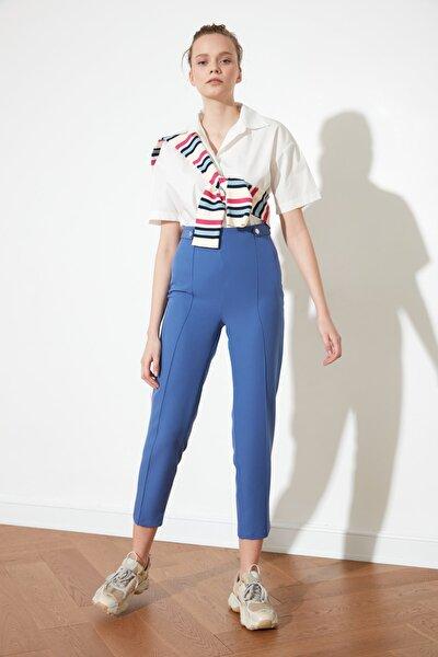 Indigo Çıtçıt Detaylı Pantolon TWOAW20PL0598
