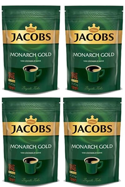 Monarch Gold Kahve 800 Gr Eko Paket(200 Gr X 4 Adet)