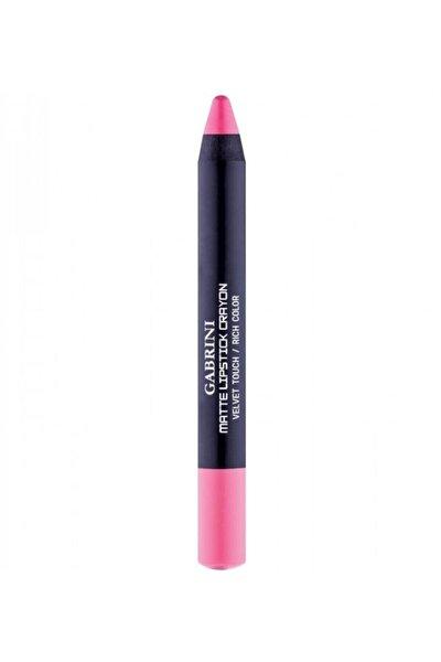 Mat Ruj  Matte Lipstick Crayon 23