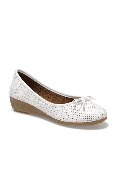 161658.Z1FX Beyaz Kadın Comfort Ayakkabı 100984643